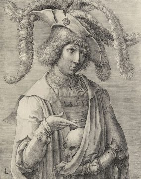 LEYDEN LUCAS VAN 1519 THE BOY WITH THE SKULL MEDIEVAL IMAGAO