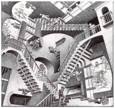 escaleras escher